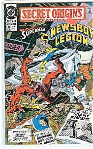 Secret Origins - DC comics - # 49  June 1990 (Image1)