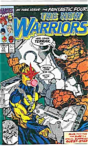 The New Warriors - Marvel  comics - # 17  Nov. 1991 (Image1)