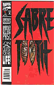 Sabre Tooth - Marvel comics - # l August  1993 (Image1)