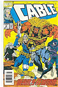 Cable - Marvel comics - # 4 August 1993 (Image1)