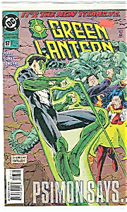 Green Lantern - DC comics - #57  Dec. 1994 (Image1)