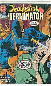 Deathstroke - DC comics - # 2  Sept. 1991 (Image1)