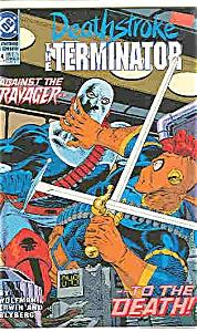 Deathstroke - DC comics =  # 4 Nov. 1991 (Image1)