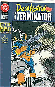 Deathstroke - DC comics - #6    Jan. 1992 (Image1)