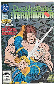 Deathstroke -DC comics -  # 25  June 1993 (Image1)