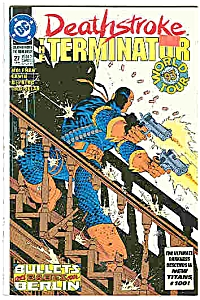 Deathstroke - DC comics - # 27 August 1993 (Image1)