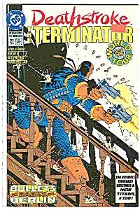 Deathstroke - DC comics - # 27 August 1993 (Image1)