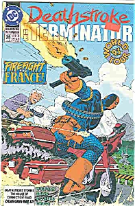 Deathstroke - DC comics - # 28Sept. 93 (Image1)