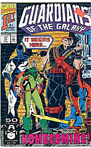 Guardians of the Galaxy - Marvel comic - # 17 Oct. 1991 (Image1)