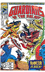 Guardians of the Galaxy -Marvel comics=# 21 Feb. 92 (Image1)