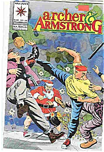 Archer & Armstrong - Valiant comics - #20 March 1994 (Image1)