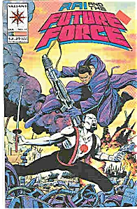 RAI & the Future Force - Valiant comics - # 17 Jan. 94 (Image1)