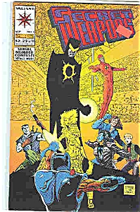 Secret Weapons - Valiant comics - # 1  Sept 93 (Image1)