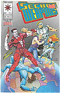 Secret Weapons - Valiant comics - # 3 Nov. 1993 (Image1)