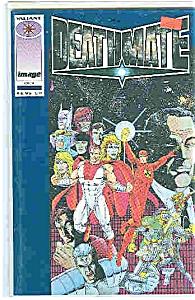 Deathmate = Valiant comics - # Blue -  Occt. 1993 (Image1)