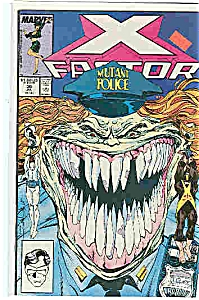 X-Factor - Marvel comics - # 30  July 1988 (Image1)