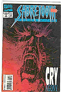 Sabretooth - marvel comics - # 4August 1994 (Image1)
