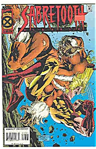 Sabretooth  - Marvel comics - # 9 Jan. 1995 (Image1)