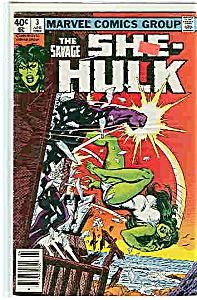 She-Hulk - Marvel comics - April 1980  # 3 (Image1)