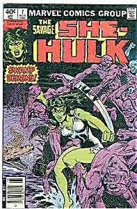 She-Hulk - Marvel comics - # 7 August. 1980 (Image1)