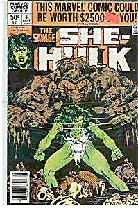 She-Hulk - Marvel comics - # 8 Sept. 1980 (Image1)
