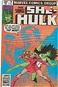 She-Hulk - marvel comics - # 10 Nov. 1980 (Image1)