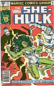 She-Hulk - Marvel comics - # 12 Jan. 1981 (Image1)