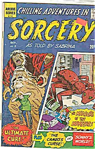 CHILLING ADVENTURES IN SORCERY-  # 2 1972 Archie Comics (Image1)