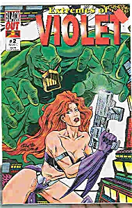 Violet - Black Out comics - # 2   1995 (Image1)