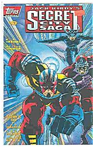 Secret City Saga - Topps comics -  # 0    1993 (Image1)