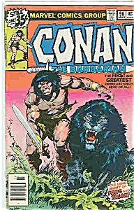 Conan - the Barbarian - Marvel comics - # 96 March (Image1)
