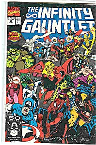 The Infinity Gauntlet - Marvel comics -# 3  Sept. 1991 (Image1)