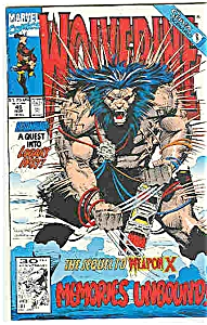 wolverine - Marvelcomics - #48  Nov. 1991 (Image1)