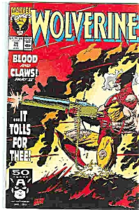Wolverine - Marvel comics - # 36  Feb. 1991 (Image1)