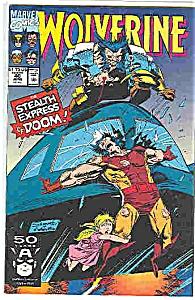 Wolverine - Marvel comics # 40  June 1991 (Image1)