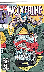 Wolverine - Marvel comics = #47 Oct. 1991 (Image1)