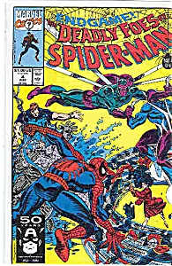 Spiderman - marvelcomics   # 4  August  1991 (Image1)
