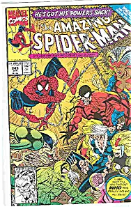 Spiderman - Marvel comics - # 343 Jan. 1991 (Image1)