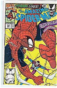 Spiderman - Marvel comics - # 345 March 1991 (Image1)