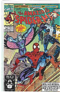Spiderman - Marvel comics - # 353 Early Nov. 1991 (Image1)