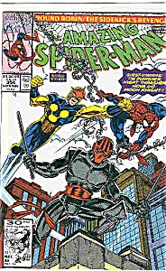 Spiderman - Marvel comics - #354 - Late Nov. 1991 (Image1)