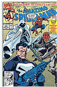 Spiderman - Marvel comics - # 355 early Dec. 1991 (Image1)
