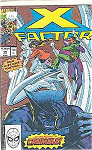 X-Factor - Marvel comics - # 59  Oct. 1990 (Image1)