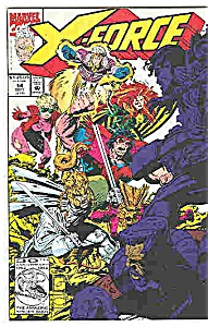 X-Force - Marvel comics - # 14  Sept. 1992 (Image1)