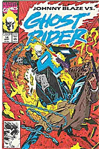 Ghost Rider - Marvel comics - # 14  June 1991 (Image1)
