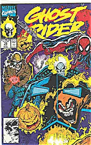 Ghost Rider - Marvel comics - # 16  Aug. 1991 (Image1)