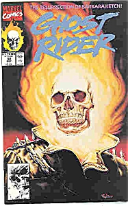 Ghost Rider - Marvel comics - # 18 Oct. 1991 (Image1)