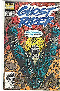 Ghost Rider - Marvel comics - # 23 March 1992 (Image1)