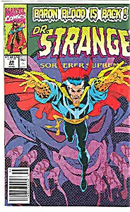 Dr. Strange - Marvel comics - # 29  May 1991 (Image1)