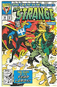 Dr. Strange - Marvel comics - # 38  Feb. 1992 (Image1)
